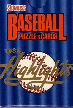 1986 Donruss HIGHLIGHTS Baseball SET Clemens Mantle