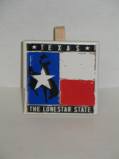 Texas Recipe Holder