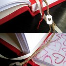 Custom Queen of Hearts Hand Bound Journal