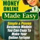 Making Money Online Made Easy Ebook