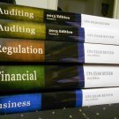 2013 Becker CPA Course Review Set and Extra Wiley Study Material