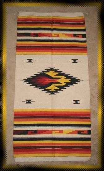 Southwestern Design Log Cabin Decor Rug 32 x 64 - #10