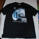 one small step apollo moon t shirt XL