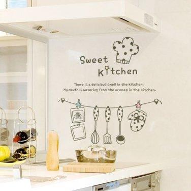 Sweet Kitchen Words DIY Modern Wall Art Vinyl Decals Stickers For Home Cafe  Decor Fun Unique Ga 16