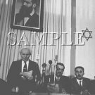 Israeli prime minister David Ben Gurion reading the declaration wonderful photo still #7