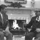 Israel & U.S president Yithak Navon with U.S. President ronald reagan wonderful photo still #10