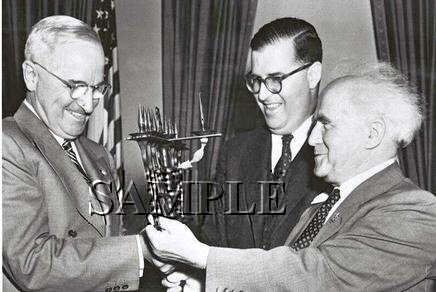 Israel prime minister David Ben Gurion U.S. President Harry Truman wonderful photo still #17
