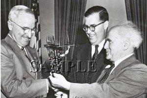 Israel prime minister David Ben Gurion U.S. President Harry Truman wonderful photo still #17