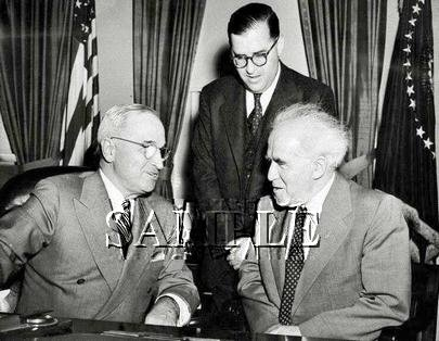 Israel prime minister David Ben Gurion U.S. President Harry Truman wonderful photo still #18