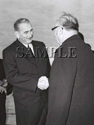 Israel prime minister Levy Eshkol U.S. President johnson wonderful photo still #19