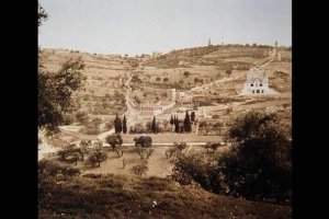 Color photo from late 19th century of jerusalem palestine israel #10