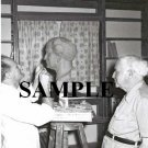David ben gurion posing for internationaly known sculptor Nicolaus Koni at sdeh boker photo #42