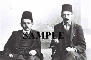 David ben gurion and Yitzhak ben zvi as low sudents in turky wonderful photograph #52