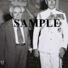 Lord Mountbatten with israel prime minister david ben gurion wonderful photograph #59