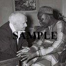 Israel prime minister david ben gurion with prime minister of nigeria wonderful photograph #64