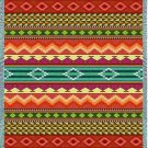 69x54 Southwest Western Striped Tapestry Throw Blanket