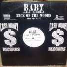 "BABY AKA BIRDMAN-NECK OF THE WOODS-USA 12"" VINYL MINT"