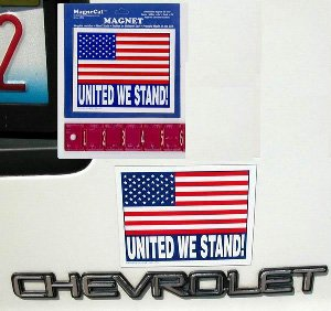 Made in the USA Small American Flag Magnet