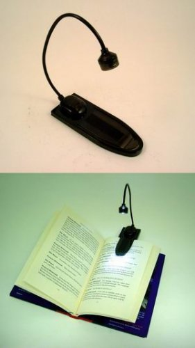Adjustable Book Light Clip wholesale case of 100