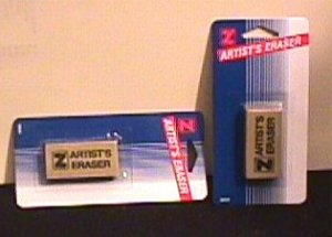 ARTIST'S ERASERS (wholsale) case of 144