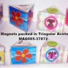 Assorted 3-Pack Rubber Magnets (wholesale ) case of 192
