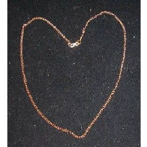 23 Inch Gold Tone Necklaces WHOLESALE case of 288