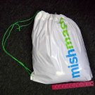 Heavy Duty Imprinted Plastic Draw String Shopping Bag (wholesale lot of 250)