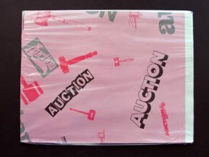WHOLESALE auction wrapping paper