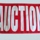 AUCTION 3 X 5 Fluorescent Banner (wholesale price)