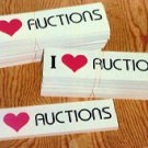 Auction Bumper Stickers wholesale