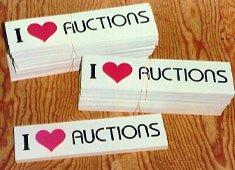 Auction Bumper Stickers wholesale