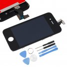 Black Replacement LCD Touch Screen Digitizer Glass Assembly for iPhone 4S + Tool