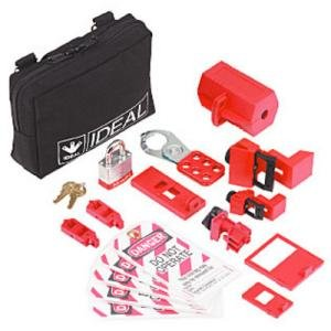 Ideal 15 Pc. Basic Lockout/Tagout Kit