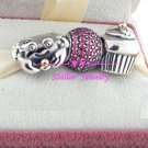 925 Sterling Silver SPECIAL BIRTHDAY Charms Gift Set - fits European Beads Bracelets