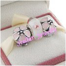 925 Sterling Silver CHERRY BLOSSOM Charms Gift Set - fits European Beads Bracelets