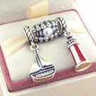 925 Sterling Silver COASTAL ADVENTURE Charms Gift Set - fits European Beads Bracelets