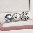 925 Sterling Silver STARRY STARRY NIGHT Charms Gift Set - fits European Bracelets