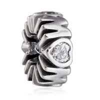 925 Sterling Silver Mother Mum's Pride Spacer Bead