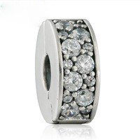 925 Sterling Silver Shining Elegance Clip Charm