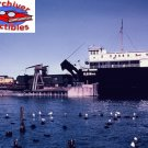 Duluth South Shore & Atlantic train ferries at Straits of Makinac 8x10 Picture