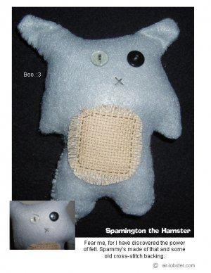 Spammington the Hamster