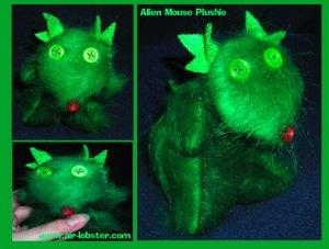 Alien Fuzzy Mouse