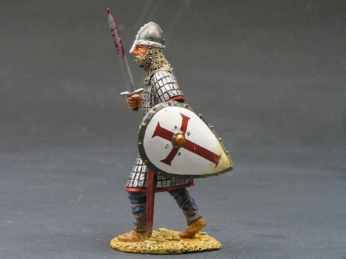 MK002 Foot Knight w/Sword & Shield