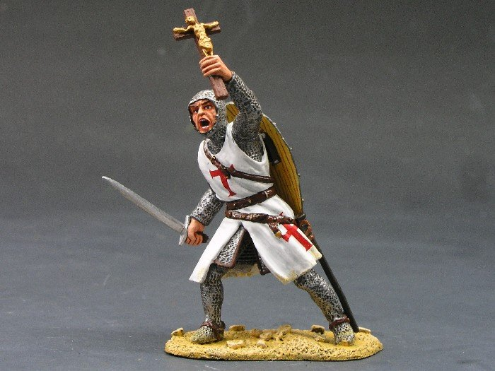 MK003 Foot Knight w/Sword & Crucifix