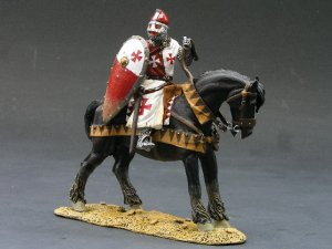 MK004 Mounted Knight w/Shield