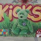 Beanie Babies Card 2nd Edition S3 1999 Kicks