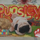 Beanie Babies Card 2nd Edition S3 1999 Pugsley