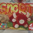 Beanie Babies Card 2nd Edition S3 1999 Snort