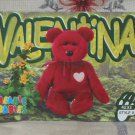 Beanie Babies Card 2nd Edition S3 1999 Valentina