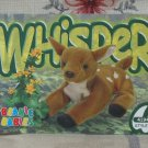 Beanie Babies Card 2nd Edition S3 1999 Whisper